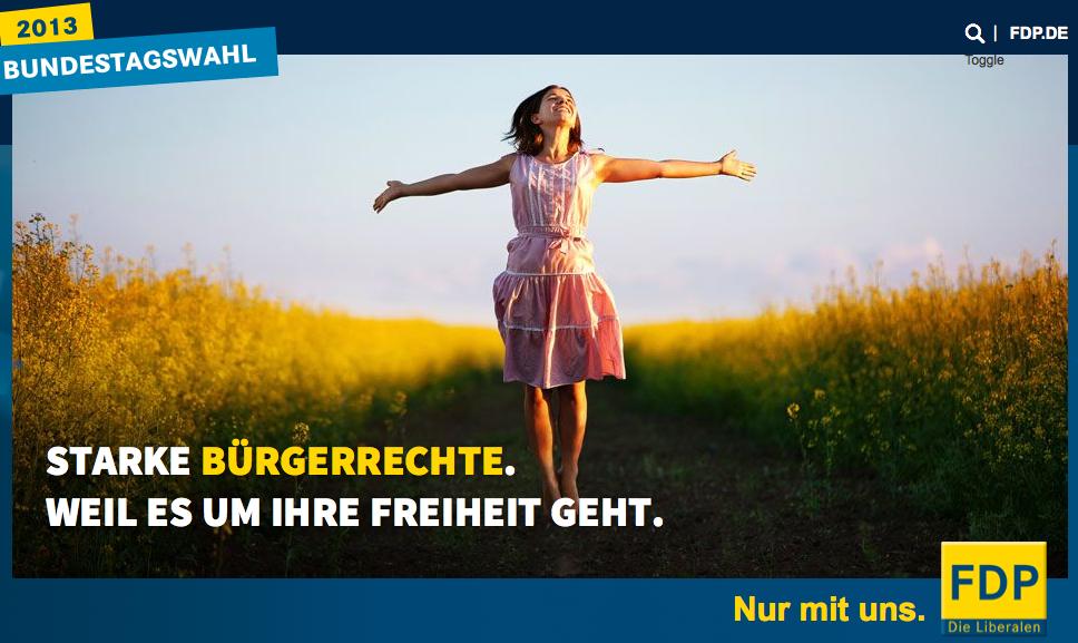 FDP: Starke Bürgerrechte